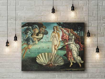 Sandro Botticelli: The Birth of Venus. Fine Art Canvas.